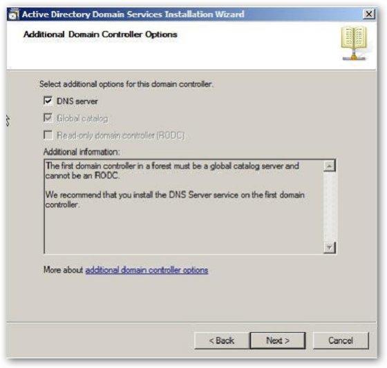 конфигурирование dns сервера