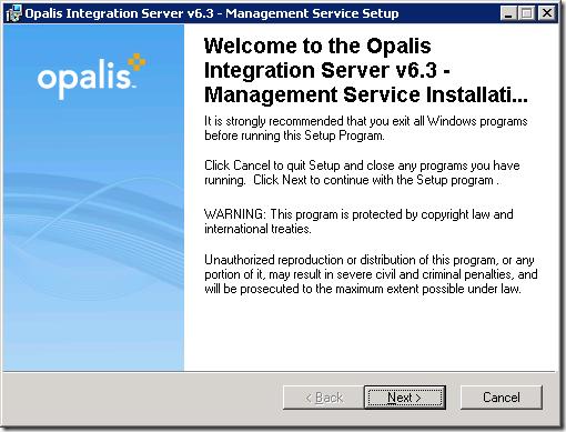 install_opalis_2_3