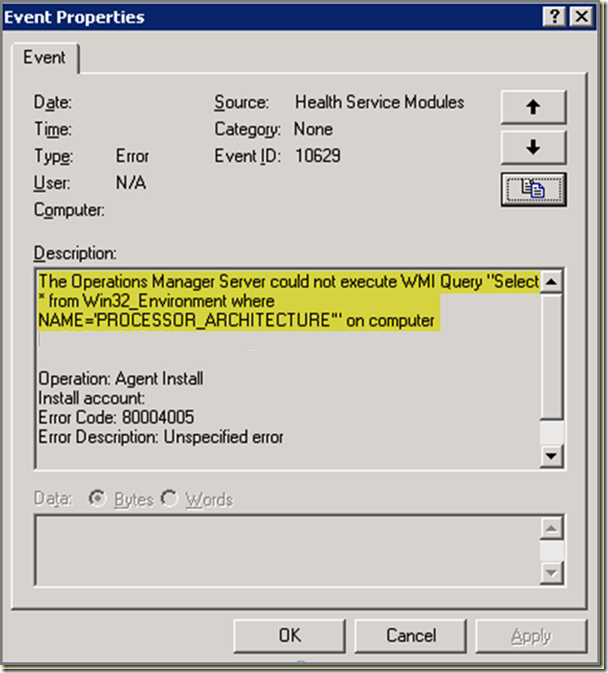 scom_agent_error_8004005_2